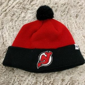 NJ Devils Toddler Hat 👹